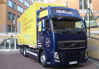VOLVO DME truck developed in 2010 in Swedenク